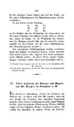 IV. Ueber Cefrieren des Wassers und Hagels; Eon Dr. Berger in ...