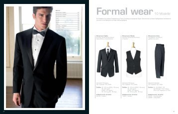 Formal wear - Ask Ullmann