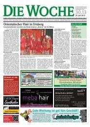 Ausgabe 30/13 - Redaktion + Verlag - printdesign