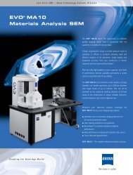 EVO® MA10 Materials Analysis SEM - Web-site.co.th