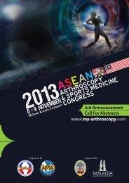 AASMC2013 3rd FA_10.23pm - Malaysian Arthroscopy Interest Group