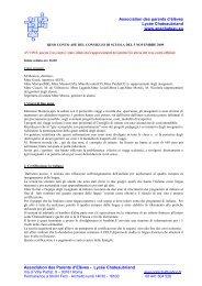Primo Consiglio di Scuola del 15/11/2008.pdf - Apechateau.eu