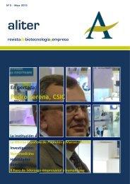 Revista Biotecnología y Empresa Mayo 2012 - Aliter