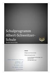 Schule - Albert-Schweitzer-Schule Neuhof-Herzlich Willkommen