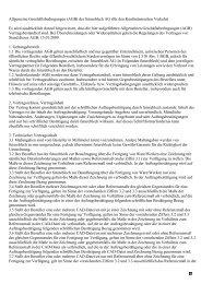 Allgemeine Geschäftsbedingungen (AGB) der futureblech AG (für ...