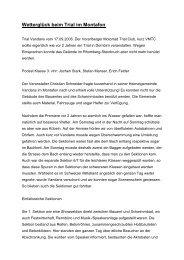 Bericht unserer Schweizer Kollegen über das Trialrennen 2006 in ...