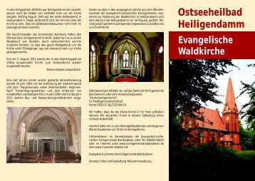 Faltblatt Kapelle Heiligendamm.cdr - Doberaner Münster