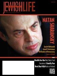 NataN SHaRaNSKy - Oregon Jewish Life Magazine