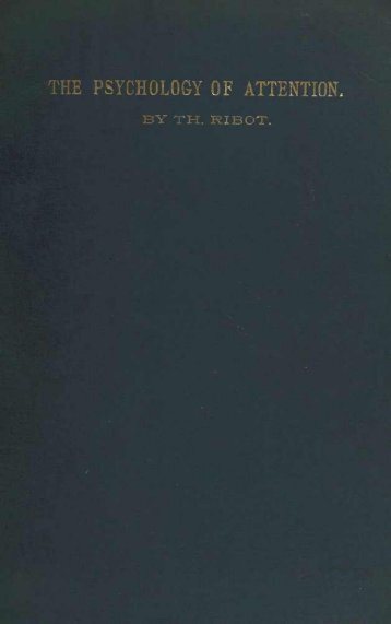 B Y T H . R I B O T . - Biblioteca Digital de Obras Raras USP