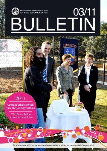 eBulletin3_2011 - Catholic Education Office