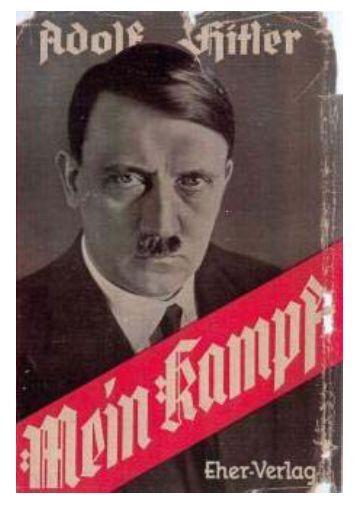 Mein Kampf – Band 1 und 2 (855. Auflage 1943, 818 S., Text) Buch