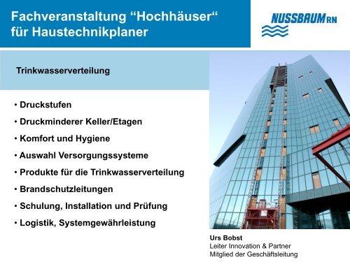 """Fachveranstaltung """"Hochhäuser"""""""