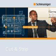 Cut & Strip Broschüre - Schleuniger in DE-AT-CH
