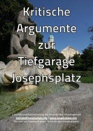 Eine Informationssammlung der Freunde des Josephsplatzes ...