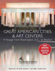 Great american cities & art centers - Travel Dynamics International