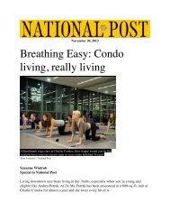 Condo Fitness - November 2013 - Suzanne Wintrob