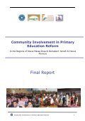 Community Involvement in Primary Education Reform - Near East ... - Page 2