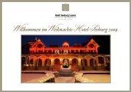 Willkommen im Weihnachts-Hotel Seeburg 2009 - Musicmagicians