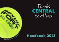 TCShandbook13 AW - Stirling Lawn Tennis and Squash Club