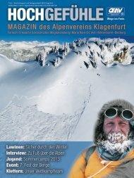 MAGAZIN des Alpenvereins Klagenfurt - Klagenfurter Hütte