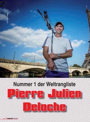 Pierre Julien Deloche - Traditionelles Bogenschiessen
