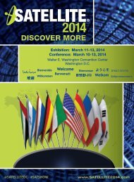 DISCOVER MORE - Satellite 2014
