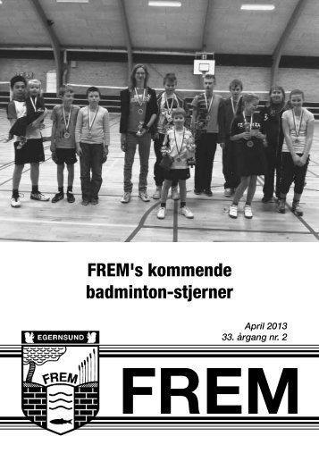 FREM's kommende badminton-stjerner - Egernsund