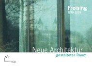 Neue Architektur - Architektur Aktuell, Freising eV