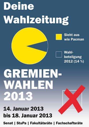 Wahlen 2013 - AStA Greifswald