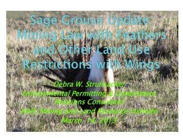 Sage Grouse Presentation