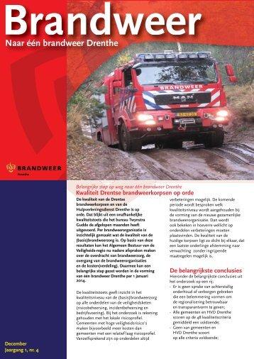Nieuwsbrief december 2012 - Hulpverleningsdienst Drenthe