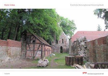 Erweitertes Nutzungskonzept für das ... - im Kloster-Lindow
