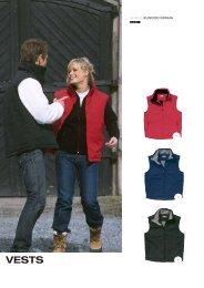 Katalog Jacken - BUCHER - Werbe- und Kundengeschenke