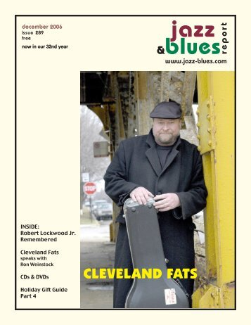 #December 289-WEB - the Jazz & Blues Report