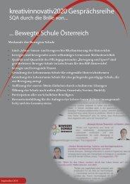 SQA durch die Brille ... von Bewegte Schule Österreich