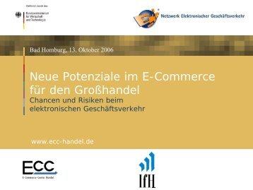 Neue Potenziale im E-Commerce für den Großhandel - ECC Handel