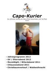 Capo Kurier 1/12 (PDF, 4.01 MB) - Pfadi Mutschellen