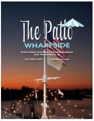 Patio Bar - SUMMER 2013 Menu - Wharfside Patio Bar & Restaurant