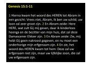 klik hier voor de Presentatie en Bijbelteksten