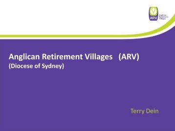 Anglican Retirement Villages (ARV)