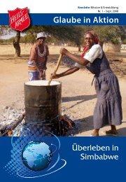 Glaube in Aktion - Heilsarmee Mission & Entwicklung