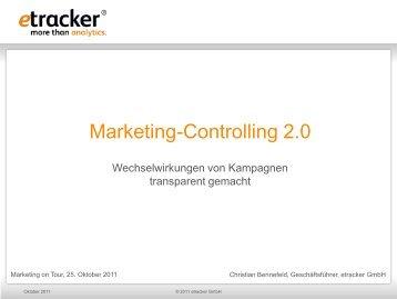 Marketing-Controlling 2.0: Wechselwirkungen von Kampagnen ...