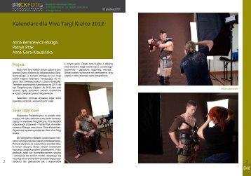 Kalendarz dla Vive Targi Kielce 2012 - Kadeska Art