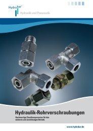 Produktkatalog Rohrverschraubungen - Hydrobar Hydraulik ...