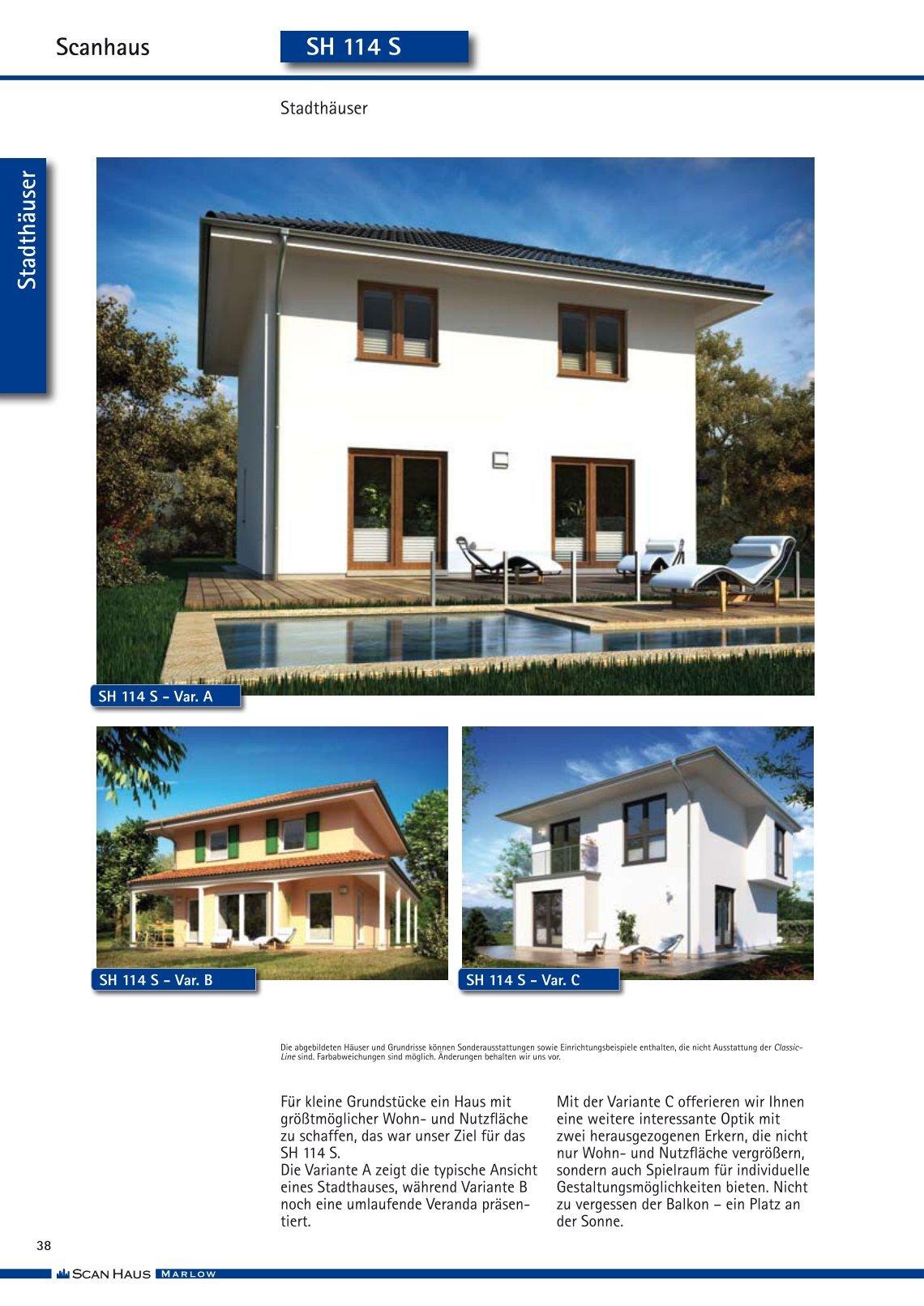 scanhaus marlow bungalow wohn design. Black Bedroom Furniture Sets. Home Design Ideas