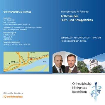 Arthrose des Hüft- und Kniegelenkes Orthopädische Klinikpraxis ...