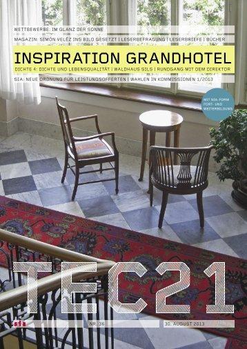 Tec 21 - Hotel Waldhaus