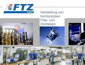 Firmenpräsentation - FTZ Fräs
