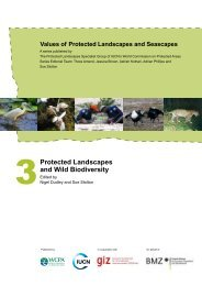 Protected Landscapes and Wild Biodiversity - VDN