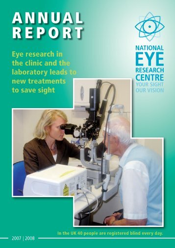 Download 2006-2007 Annual Report - National Eye Research Centre